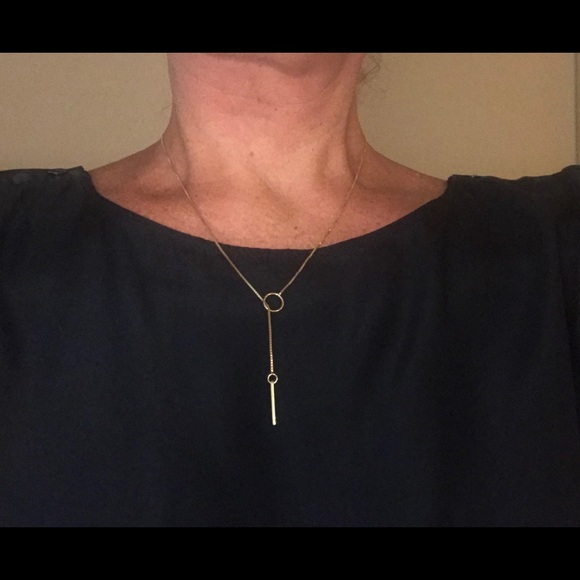 aac4be9b1 Gucci Jewelry | Authentic 18k Yellow Gold Lariat Necklace | Poshmark